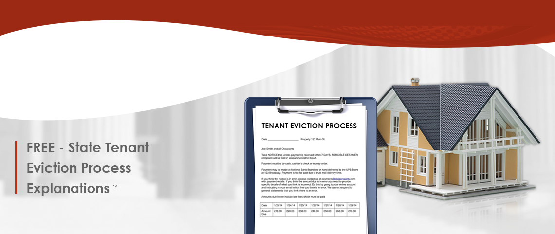 FREE - State Tenant  Eviction Process  Explanations